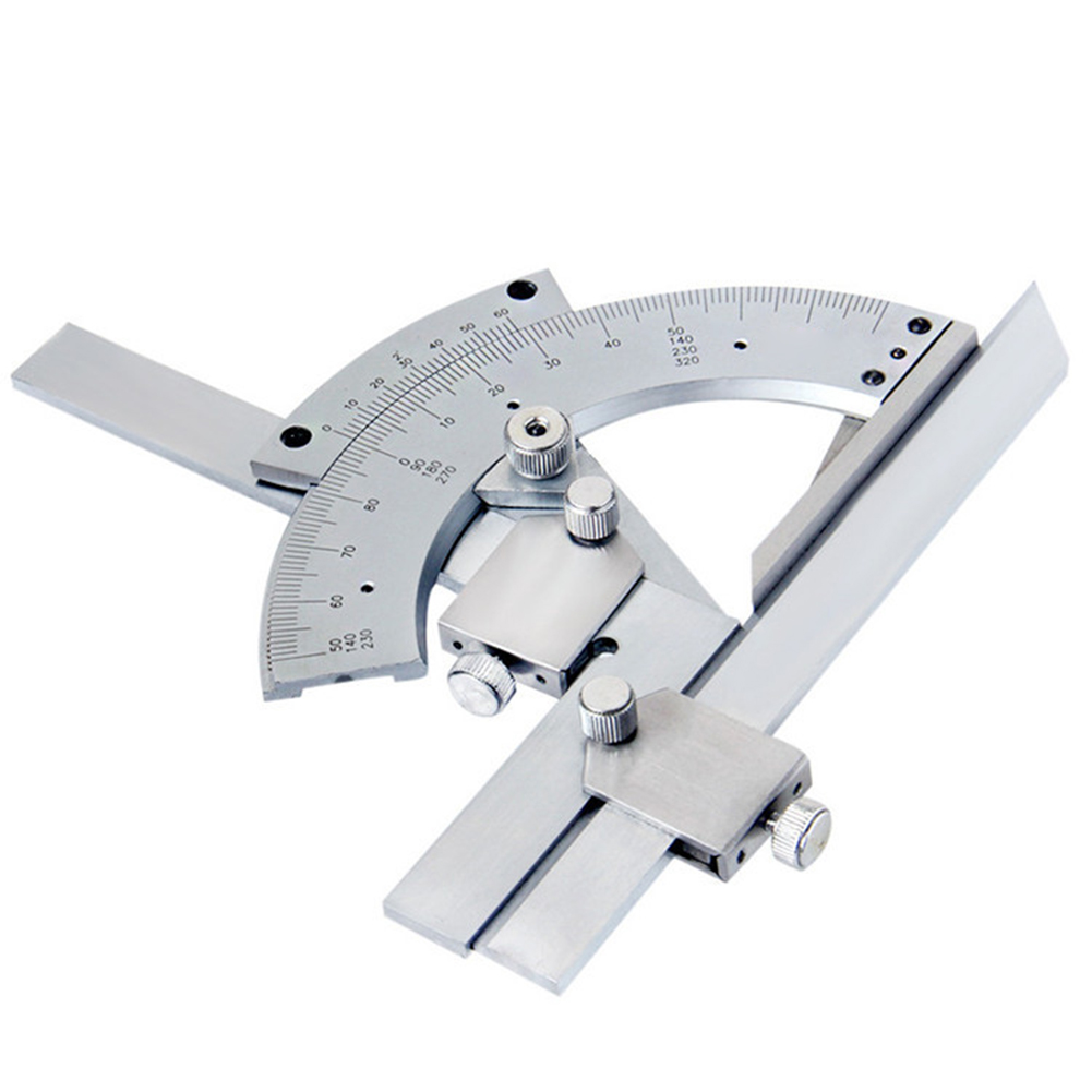 Universal Bevel Protractor 0-320 Degrees Precision Angle Ruler Measuring Finder Ruler Adjustable Vernier Protractor Top Quality