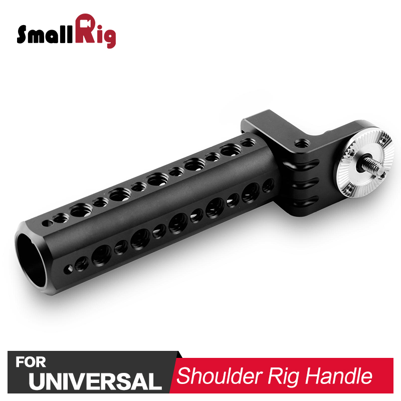 SmallRig DSLR Camera Handle Video Cheese Handle with Arri Rosette for Run and Gun Shooting 1810 smallrig camera grip qr cheese handle with 15mm rod clamp and an arri rosette screw hole multiple functions handle 1688