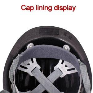 Image 3 - Chất lượng cao FRP đội mũ bảo hiểm ánh sáng Phía Trước có thể được cài đặt mũ bảo hiểm Cả Hai bên Xếp con trỏ An Toàn mũ bảo hiểm