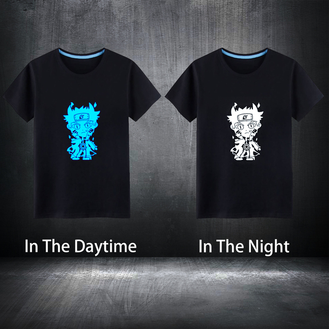 Naruto Glowing T Shirt