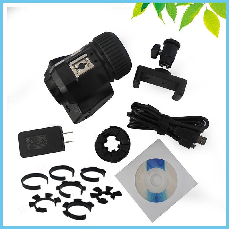 все цены на 5.0MP USB WIFI CMOS Digital Electronic Eyepiece Camera with Adapter for Spotting Scope Microscope Astronomical Telescope онлайн