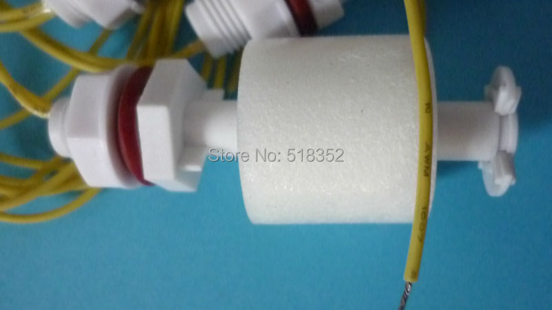 Water Level Switch Plastic 28 x 61mm with Two Wires L350mm for ...
