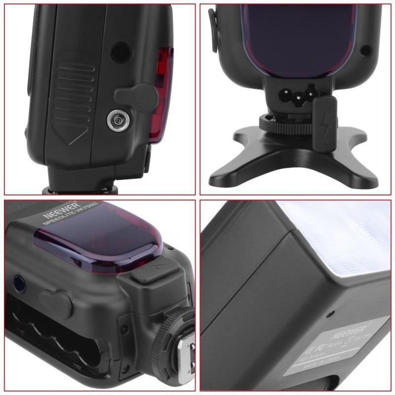 Neewer VK750 II i-TTL Speedlite Flash w/ תצוגת LCD עבור ניקון D7100 D7000 D5300 D5200 D700 D600 D90 D80 D80 את המצלמה SLR דיגיטלית