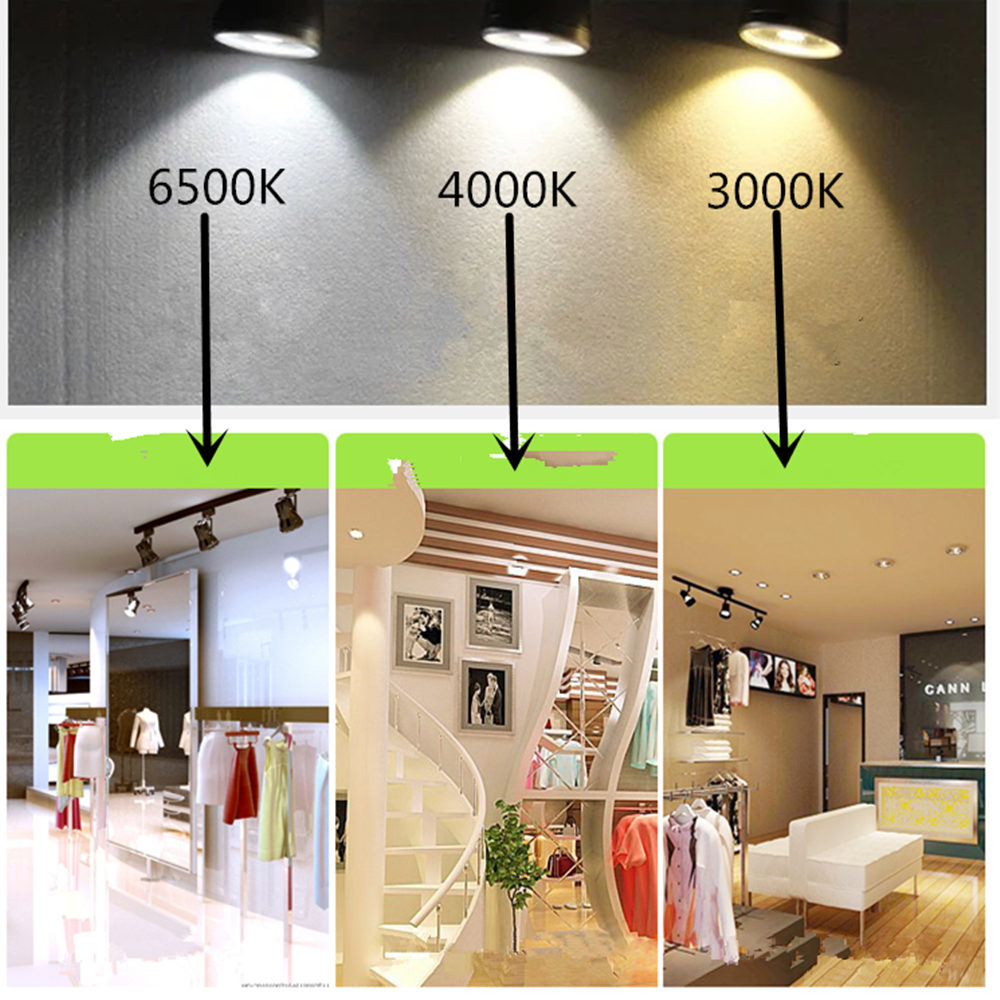 Купить с кэшбэком 10 Pieces Led Bulb Light MR16 3W COB DC 12V Dimmable Spotlight Cool White Warm white 3000K Nature white 4000K Daylight 6500K