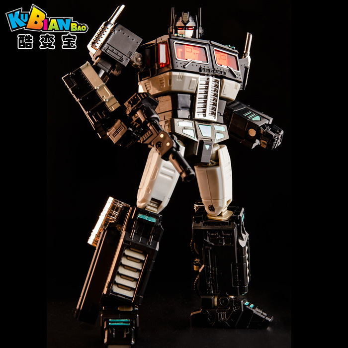 Transformation OP Commander MPP10V MPP10 Dark Black Alloy Metal Collection Voyager Backpack KBB Deformation Figure Robot Toys weijiang deformation mpp10 e mpp10 eva purple alloy diecast oversized metal part transformation robot g1 figure model in box