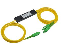 Free Shipping 1310/1550nm Dual Window 50/50 Ratio SC/APC ABS Box Type 1x2 FBT Coupler 1*2 FBT FIber Optic Splitter