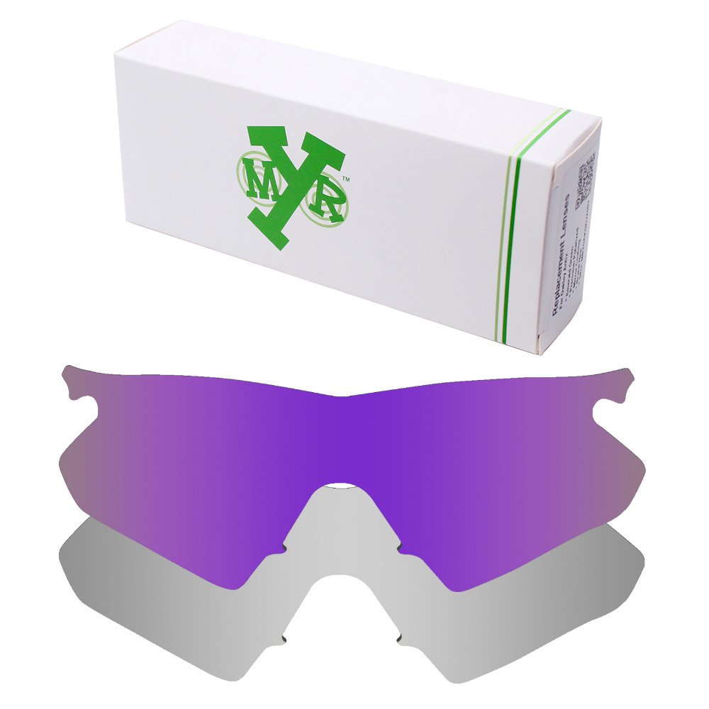 edd195dbfd 2 Pairs Mryok POLARIZED Replacement Lenses for Oakley M Frame Heater Sunglasses  Silver Titanium   Plasma Purple-in Accessories from Apparel Accessories on  ...