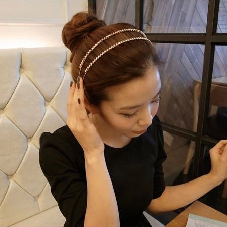 Korean small jewelry hair jewelry Korean version of the hair band headband, free home delivery korean hair jewelry bow hair hoop headband free home delivery