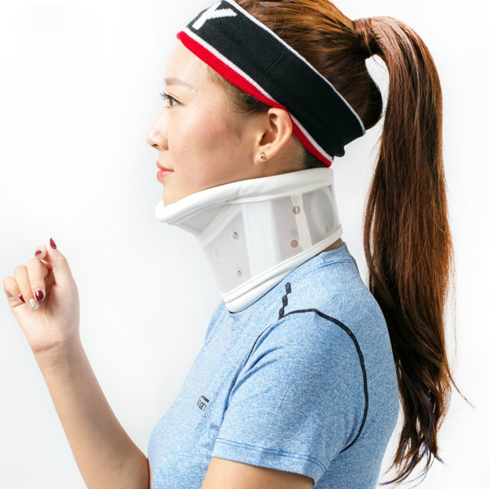 Breathable Neck Brace Medical Cervical Collar Neck Support Immobilizer Neck Pain Relief Neck Tractor Orthosis Braces(China)