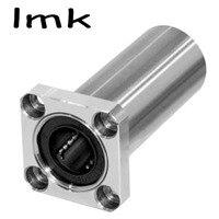 2Pcs Lot LMK16LUU 16mm Square Flange Type Linear Motion Bearing Bushing Ball Bearing CNC Parts Brand