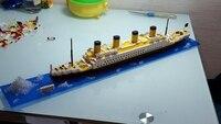 Titanic Ship 3D Building Blocks Toy Titanic Boat 3D Model Educational Gift Toy For Children
