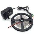 Non-Waterproof LED Strip 600 leds 5m 2835 WHITE WARM WHITE RED YELLOW GREEN BLUE led + 12v2a Power adapter EU US AU PLUG+DC PLUG