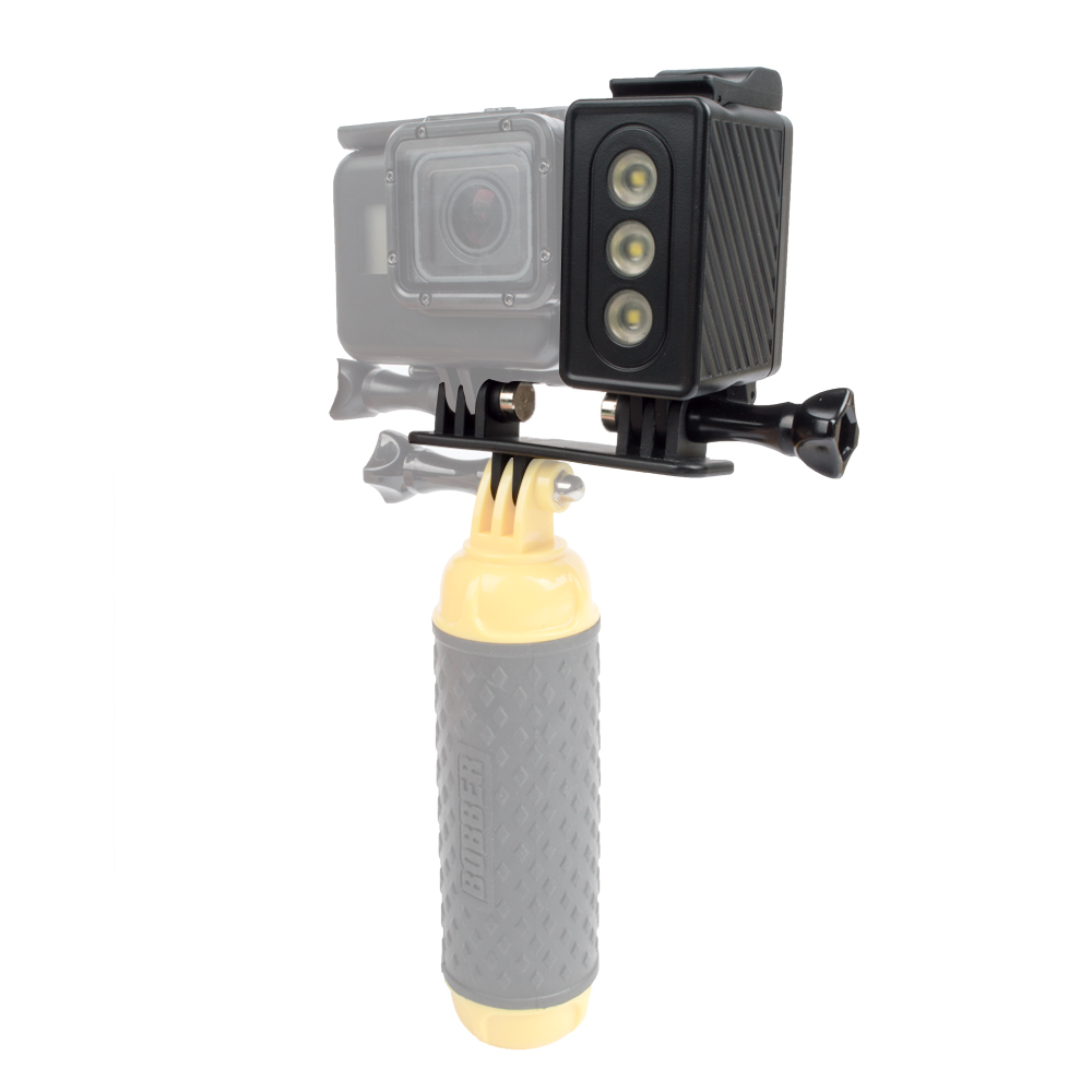 For Go Pro Diving flashLight lamp Waterproof LED Flash Video Light For GoPro Hero 5 4/3+,SJCAM /Xiaomi Yi Depth max to 30M