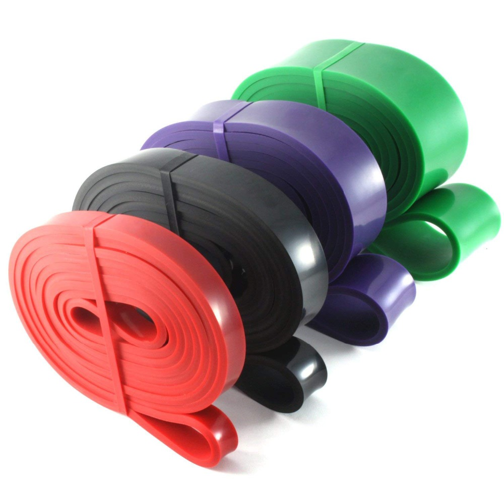208cm Pull Up Assistance Bands Stretch Resistance Band Mobility Band Powerlifting Durable Workout Exercise Pull-Up Loop Expander