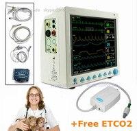 CMS8000 VET Veterinary Patient Monitor Capnograph Vital Signs 7 parameter +ETCO2 ICU