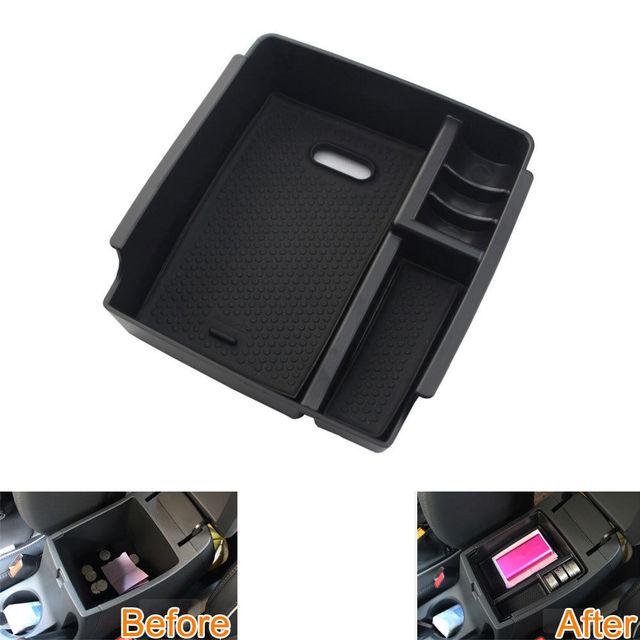 1 pc Centro Console Braço Caixa De Armazenamento de Plástico Bandeja Recipiente Titular Organizador Para IX25 2015 Car Styling
