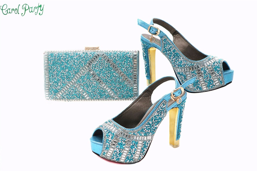 New Arrival Italian Shoes With Matching Bag Set For Wedding Party Fashion Women Pumps African Shoes and Bags G40 african fashion shoes with matching bag set for wedding party italian design nigeria women pumps shoes and bags mm1060