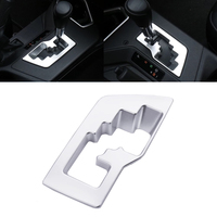 New Car Styling ABS Interior Gear Shift Box Panel Cover Trim Molding Decoration Fit For Toyota