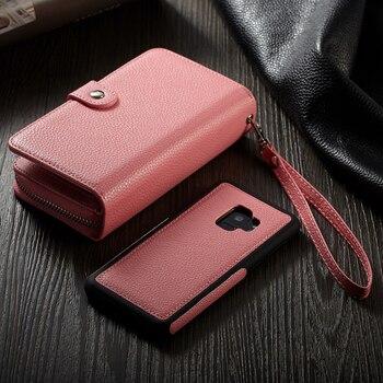 Women Wallet Case Galaxy S9
