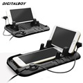 Digitalboy Universal Mobile Phone Car Phone Holder Adjustable Bracket Connector Magnetic Charging Mount For iPhone 5s 6 Samsung
