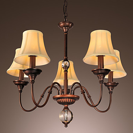 Popular Artistic Lamp Shades-Buy Cheap Artistic Lamp Shades lots ...:Modern Artistic pendant lamp with Fabric Shade Crystal Globe Centre Decor  living room pendant light Free,Lighting