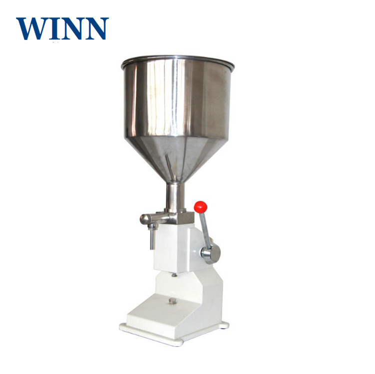 A03 Manual Filling Machine For Liquid Material Hand Power Multipurpose Quantitative Filling Machine Hand Pressure Filler Packer