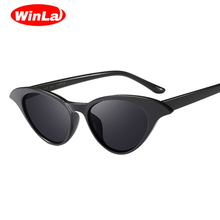 Winla Fashion Design Classic Women Cat Eye Sunglasses Unique Frame Sun Glasses Elegant Gafas Vintage Eyewear Shades UV400 WL1183