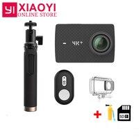 Xiaomi YI 4 K + действие Камера Амба H2 SOC Cortex A53 4 K/60fps 12MP 2,19 RAW 155 градусов 4 K + (плюс) Действие Cam Спорт Камера