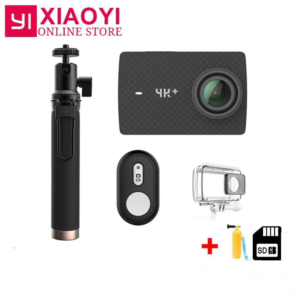 Xiaomi YI 4 K + caméra d'action Amba H2 SOC Cortex-A53 4 K/60fps 12MP 2.19