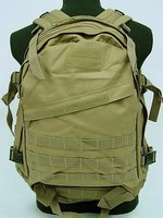SWAT 3 Day Molle Assault Backpack Bag Coyote Brown Free Ship