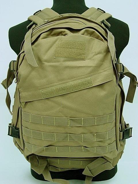 Sac à dos de 3 jours Molle assaut SWAT sac à dos Coyote brun BK Olive drab Camo boisé numérique ACU Camo