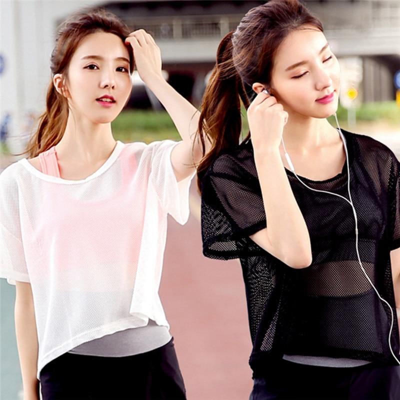 Mesh Yoga T-Shirt  2