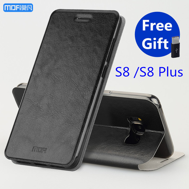 premium selection db2d1 0ed5f US $9.99 |S8 case for samsung galaxy s8 case cover for samsung s8 plus case  flip kickstand capa coque funda Pu leather + TPU 5.8