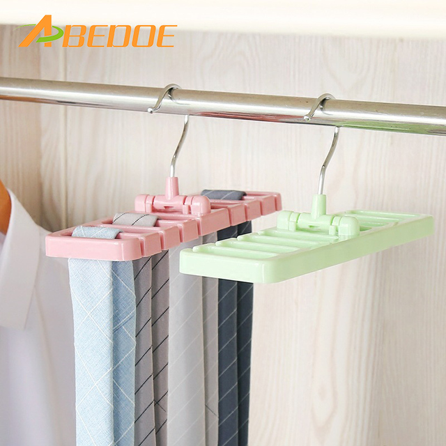 Abedoe Multifuction Storage Rack Tie Belt Organizer Rotating Scarf Ties Hanger Holder Closet Hook Organization Bra