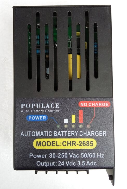 CHR-2685, automatic float charger, battery chargerCHR-2685, automatic float charger, battery charger