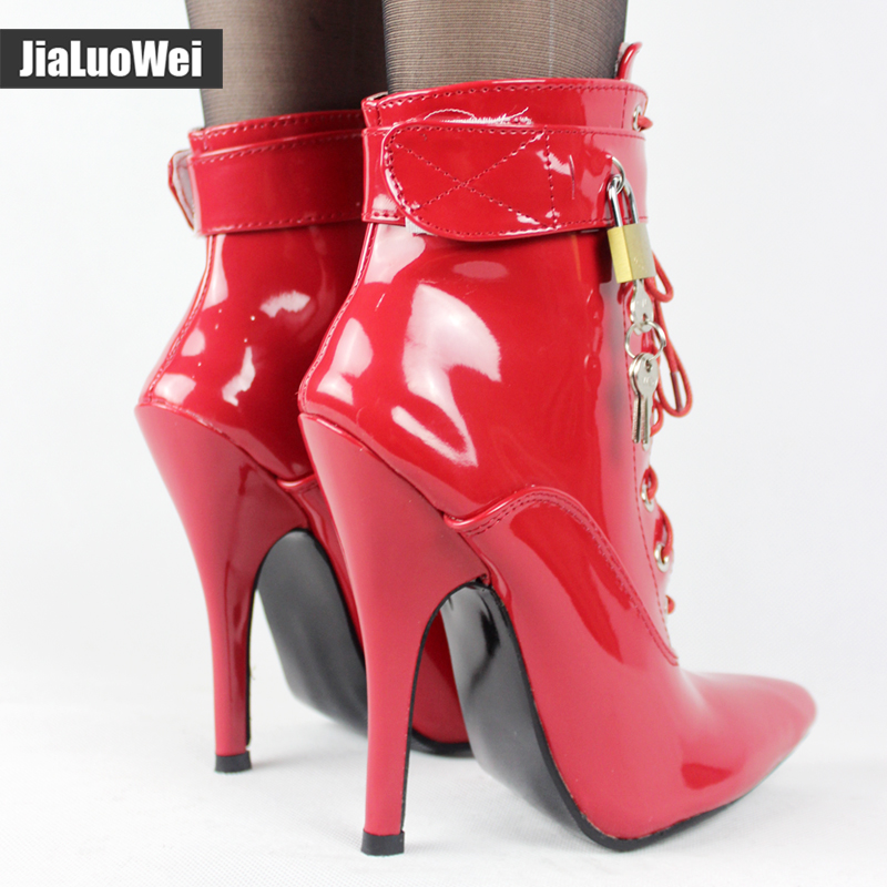 Дизайнерские женские Лоскутные ботильоны из натуральной кожи с пряжкой; модная зимняя теплая Байкерская обувь с флисовой подкладкой - 5
