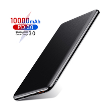ROCK 10000mAh Power Bank 18W PD fast charge QC 3.0 Powerbank