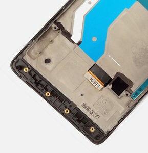 Image 5 - Czarny dla 5.7 instrukcji obsługi Microsoft Nokia Lumia 950XL ekran dotykowy montaż lcd i digitizer zgromadzenia dla ramki dla Lumia 950 XL RM 1116