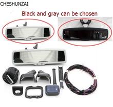 Espejo retrovisor del coche linterna Auto interruptor + Wiper Sensor de Lluvia + Anti-reflejo del Espejo Retrovisor Para VW Golf MK6 Tiguan Jetta 5