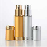 30/50PCS 5ml Refillable bottles Perfume Bottle essential oil bottle With Spray Scent Pump Atomizer Bottles with glass inner