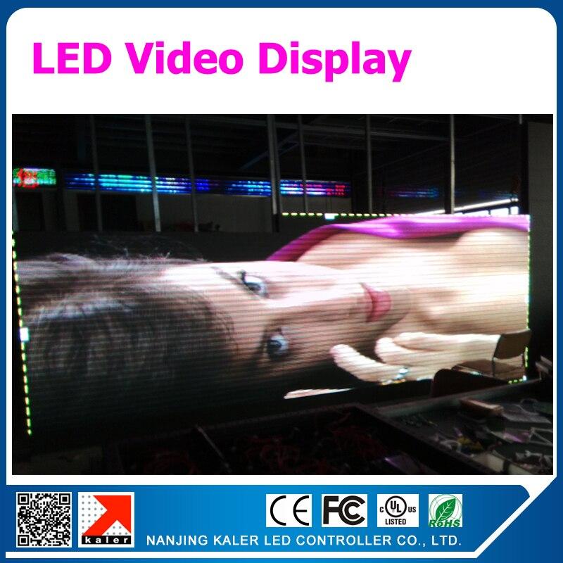 Panneau d'affichage de LED de dentition ho p5 1/16 scannent la taille faite sur commande de panneau de signe de LED polychrome d'intérieur de SMD avec le module de LED de 160 x de 320mm