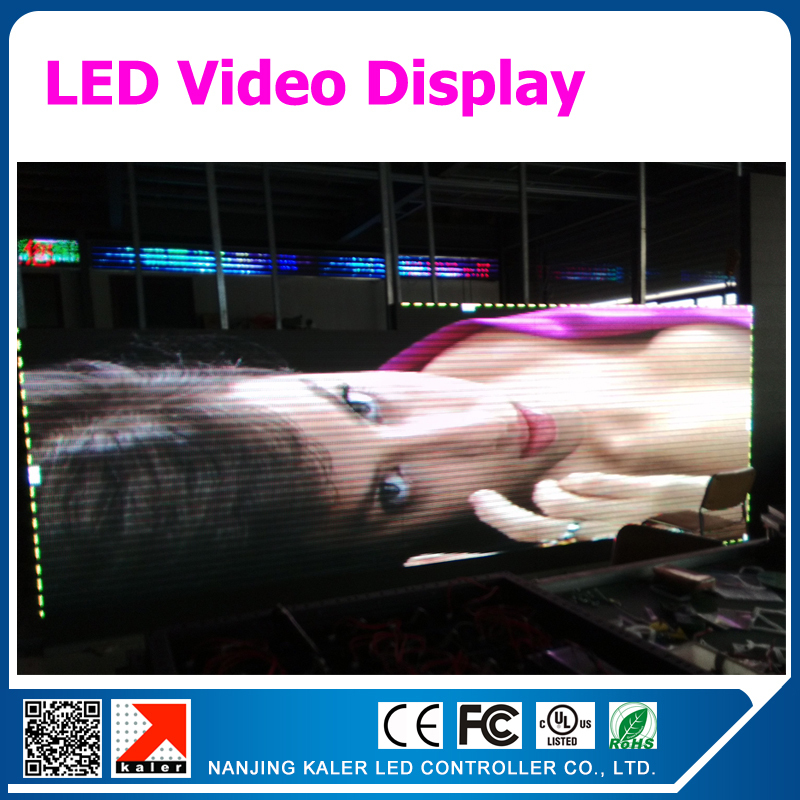 TEEHO P5 Led Display Panel 1/16 Scan SMD Indoor Full Color LED Sign Board Videowall Custom Made Size With 160x320mm Led Module