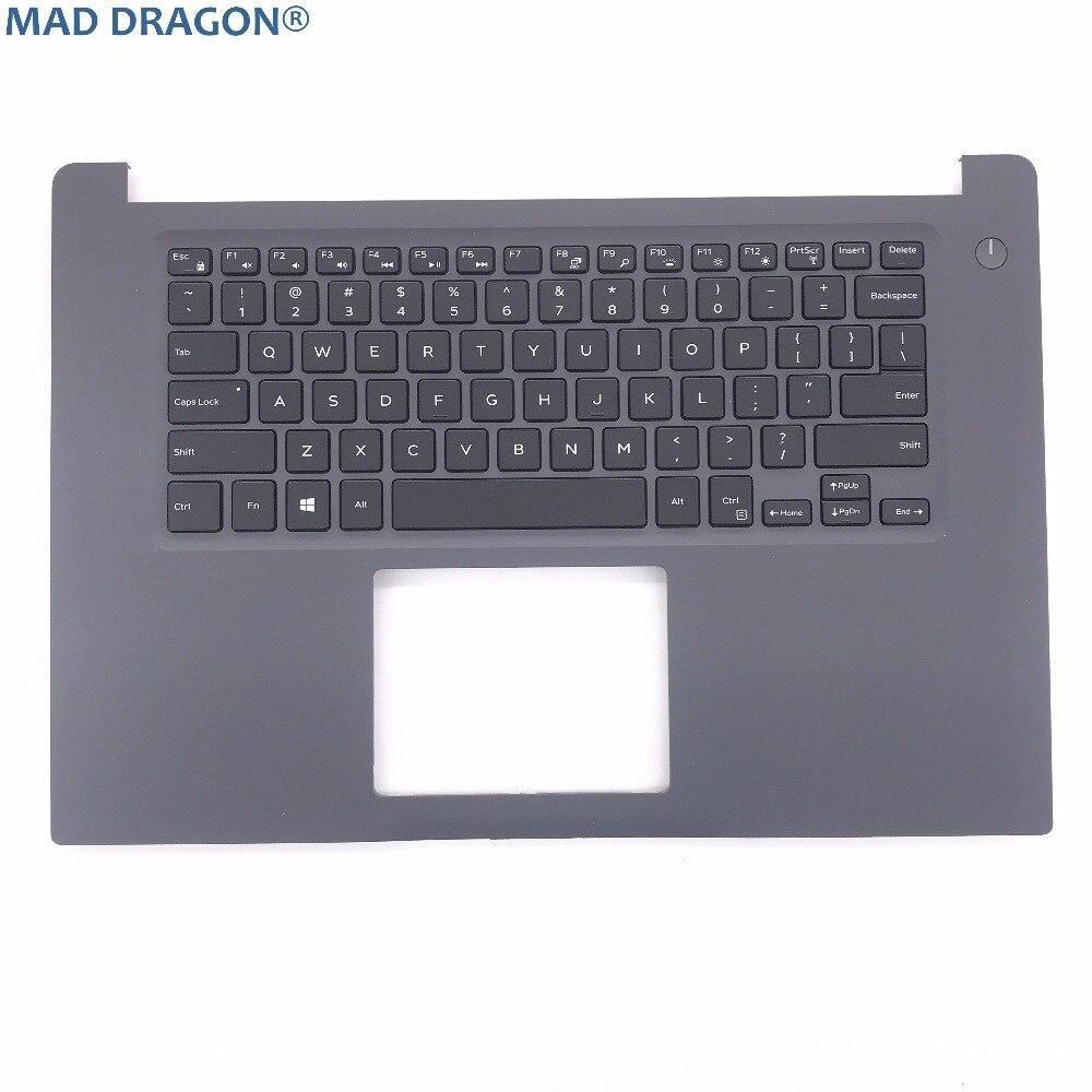 Купить с кэшбэком Brand brand new and original laptop parts  for DELL INSPIRON 15 7000 7560 US backlit keyboard and palmrest   RTJ7W  0RTJ7W