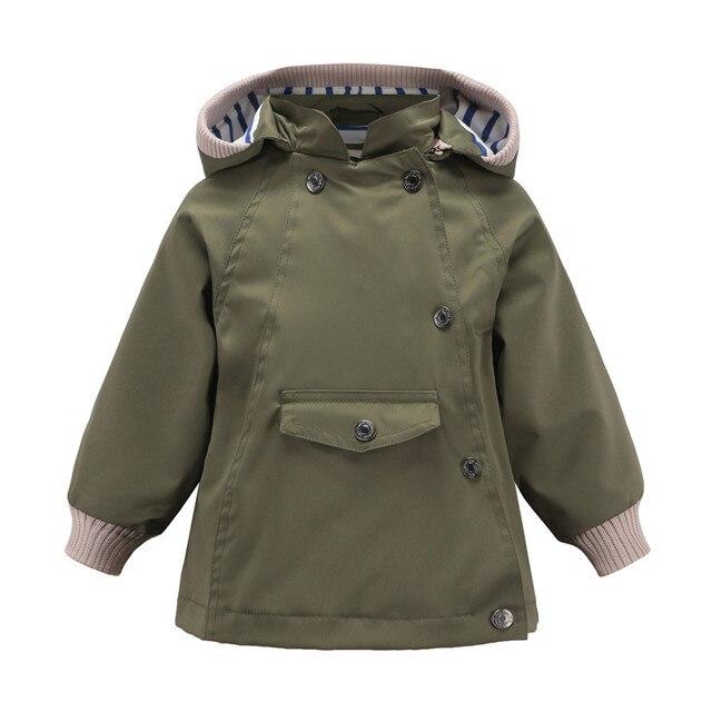 AILEEKISS/Весенняя ветровка для мальчиков, пальто, армейский зеленый Бомбер, куртка, пальто для мальчиков, осенние куртки, детская одежда для детей 1-10 лет