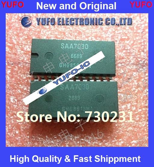 Free Shipping 1PCS SAA7030 ensuring quality original authentic {} YF1004
