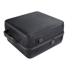 Жесткий чехол для переноски для Oculus Rift S с питанием от ПК Vr игровая гарнитура защитная коробка для хранения(черный+ серый