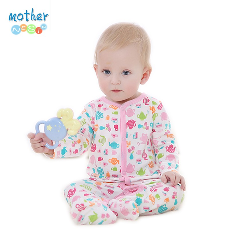 2016 Baby Clothes Little Bear Cute Baby Rompers Cotton Body Ropa Long Sleeve Infant Boys Girls Spring Summer Jumpsuit