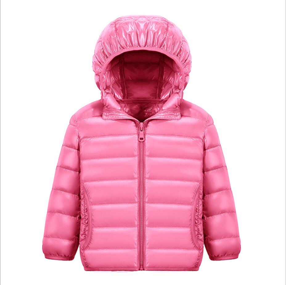 Children's   down   jacket new children's hooded thin boys and girls winter   coat   Children's jacket 100CM-150CM