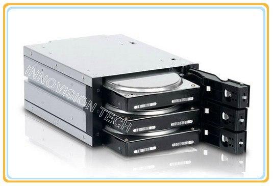 INNO 6203SSW 3*3,5 Горячий обмен HDD внутренний корпус занимает 2*5,25 CD ROM пространства