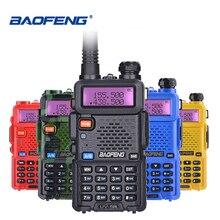 Baofeng UV 5R ווקי טוקי UHF VHF ציד רדיו Baofeng UV 5R חזיר רדיו תחנת כף יד Cb רדיו Comunicador משדר UV5R